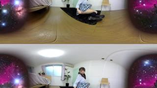 [VR全景] 清纯小妹里美麻友学生制服诱惑