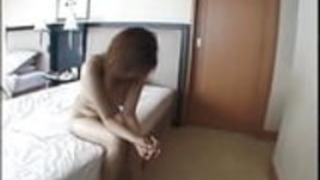 ホテルでの素人の日本人