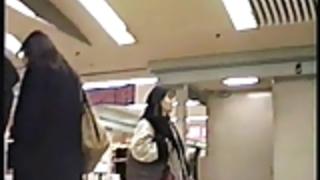 日本の女子高生屋外パンティースカート