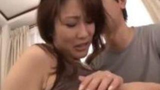 【熟女セックス】四十路の熟女のセックス中出しプレイエロ動画!!