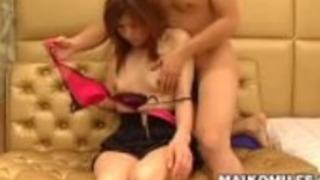 セクシーな飢えた日本人の熟女宮脇康子